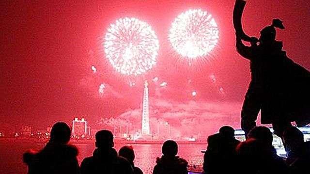Corea del Norte gasta US$ 5 millones en su show pirotécnico