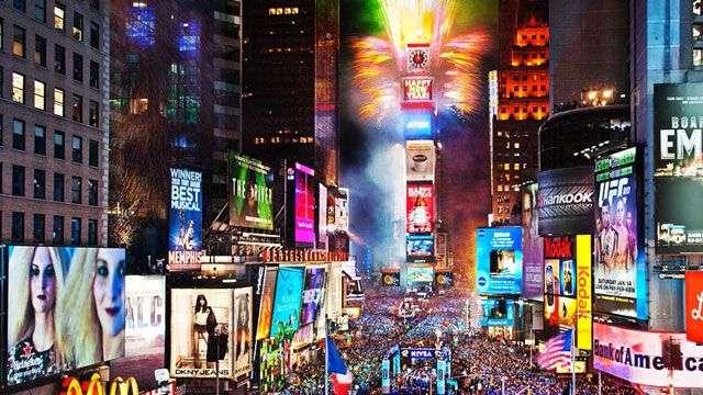 Cuenta atrás en varias partes mundo para el año nuevo