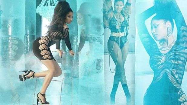 Nicki Minaj estrena sexy look en nuevo video 'Lookin Ass Nigga'