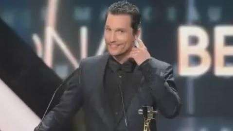 Matthew McConaughey é um dos mais cotados a receber o Oscar