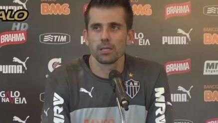 Victor comenta contusão e projeta decisão contra o Cruzeiro
