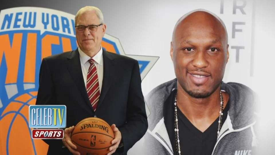 Lamar Odom Signs with the New York Knicks!