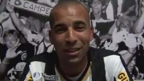 Veja a apresentação de Emerson Sheik no Botafogo