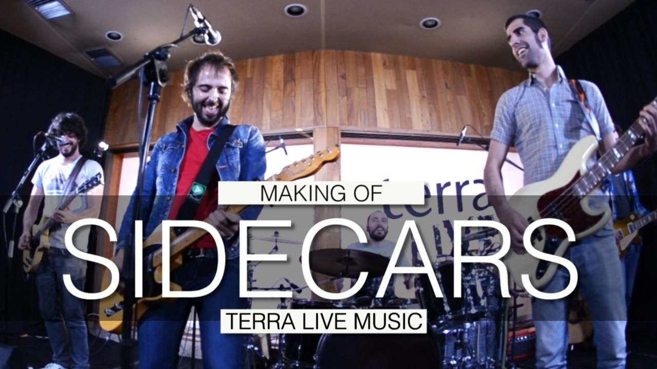 Making of de Sidecars en Terra Live Music