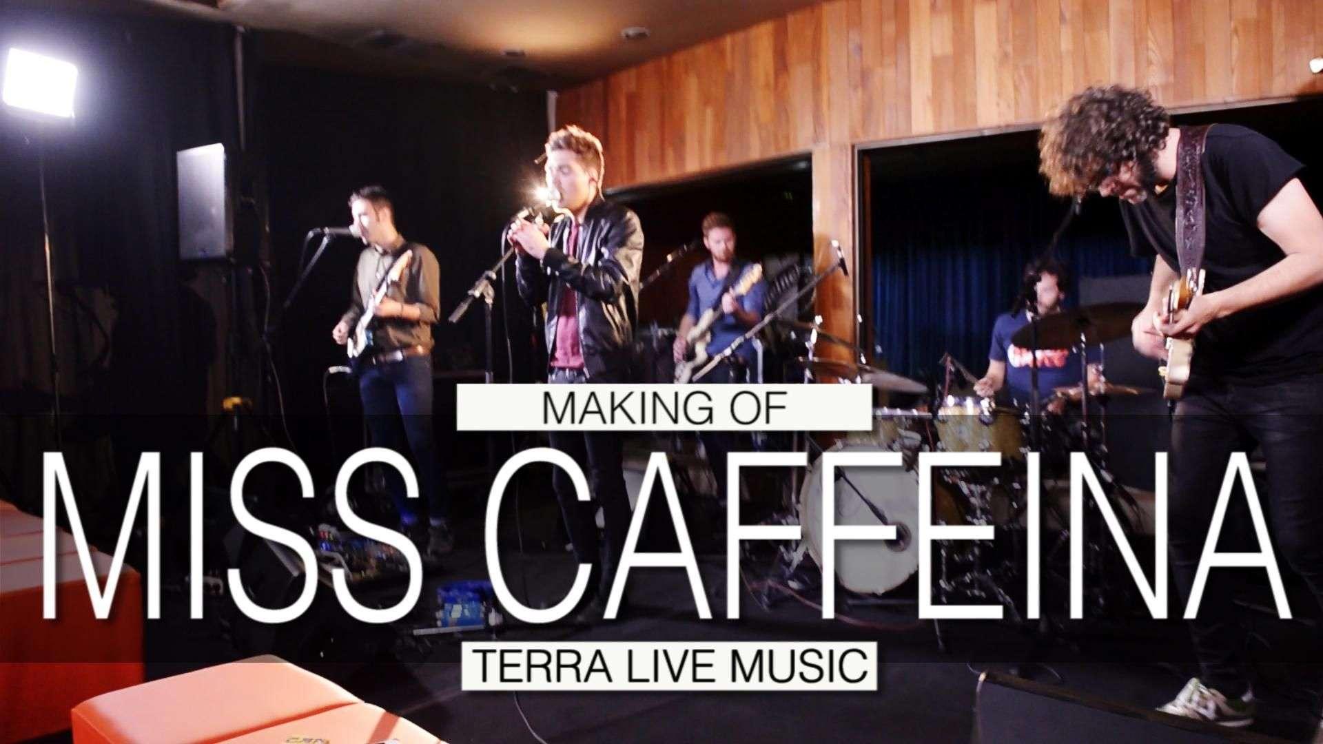 Making of de Miss Caffeina en Terra Live Music