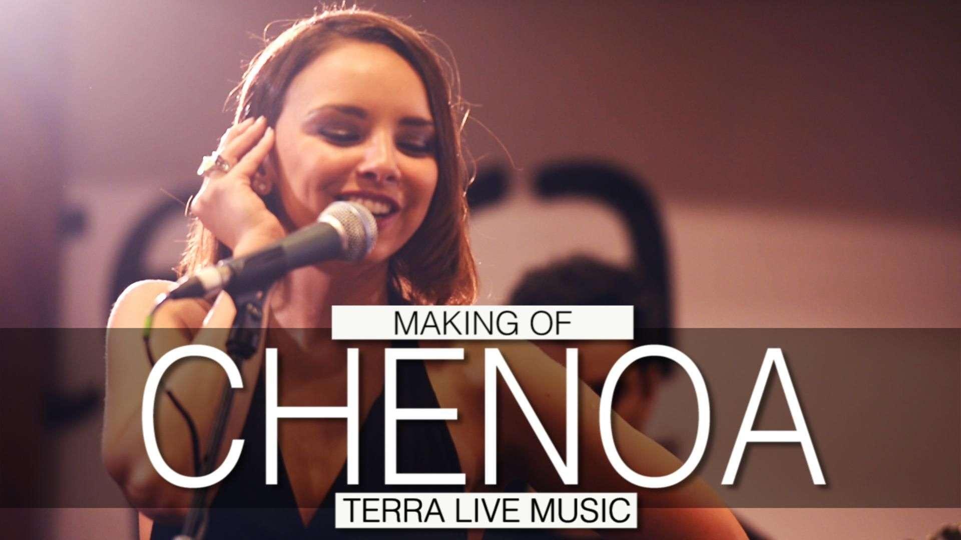 Making of del showcase de Chenoa en Terra Live Music