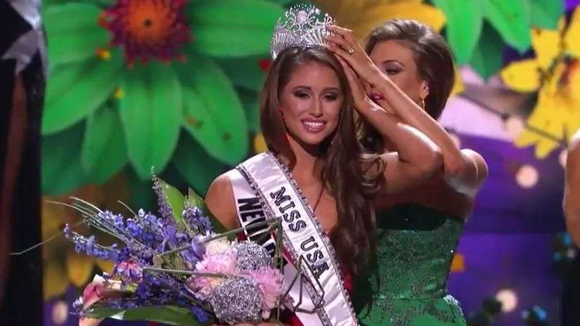 Miss Nevada Nia Sánchez gana concurso Miss USA 2014