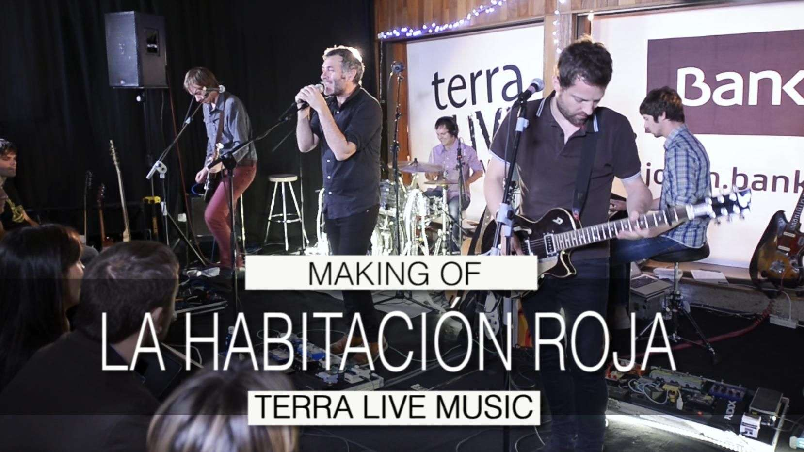 Making of de Terra Live Music: La habitación roja