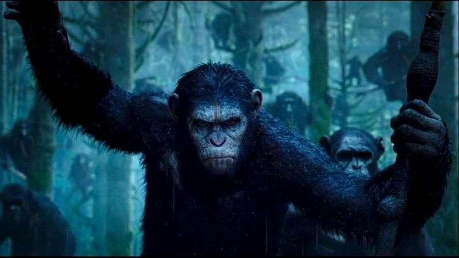 """Planet of the Apes"",  la guerra total entre simios y humanos"