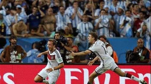 3D: Alemania campeón del Mundial 2014 venciendo a Argentina