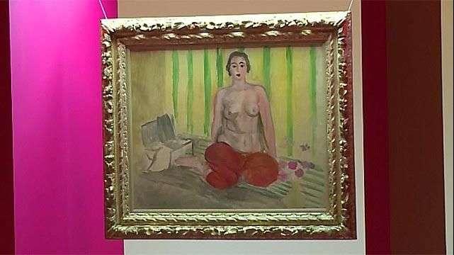 Matisse robado vuelve a museo de Caracas