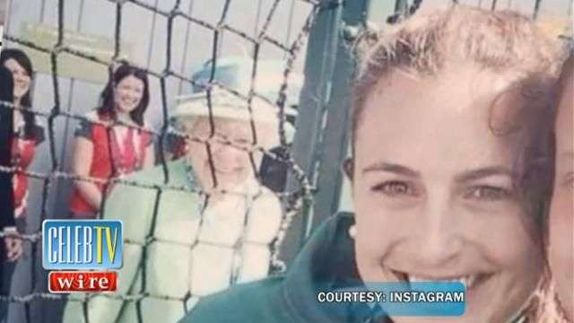 MUST SEE: Queen Elizabeth Photobomb!