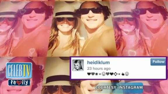 PIC: Heidi Klum's Selfie with New Boyfriend!