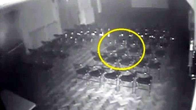 Aseguran haber grabado presencia de fantasma en un teatro