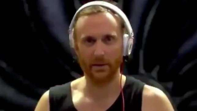 "Video de Dj David Guetta en estado ""ido"" causa furor web"