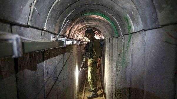 Así destruye Israel los túneles de Hamas