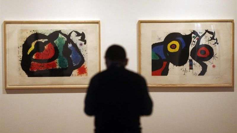 La vanguardia de Joan Miró regresa a Chile