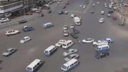 Trânsito caótico da Etiópia chama a atenção nas redes sociais