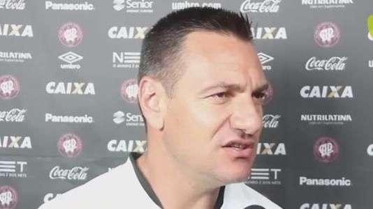 Doriva quer recuperação do Atlético-PR sobre o Botafogo
