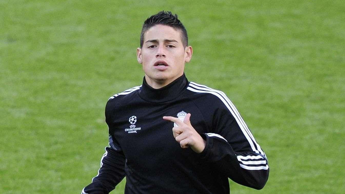 James Rodríguez debutará en el Real Madrid en la Supercopa