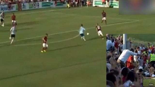 La genialidad de Totti a los 37 años que sacó reverencias