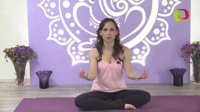 Posturas de yoga para combatir la ansiedad