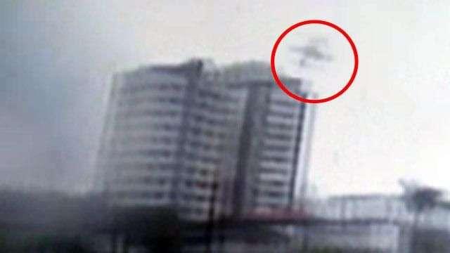 Veja momento da queda de avião que levava Eduardo Campos