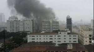 Tragedia del candidato de Brasil: así cayó el avión