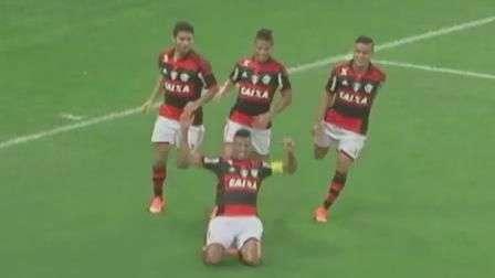 Veja os lances de Flamengo 2 x 1 Atlético-MG pelo Brasileiro