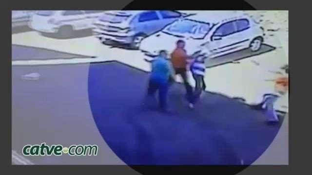 Vítimas reagem e por pouco assalto não termina em tragédia