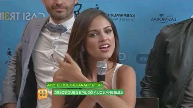 Eiza González es más sexy con kilos de más