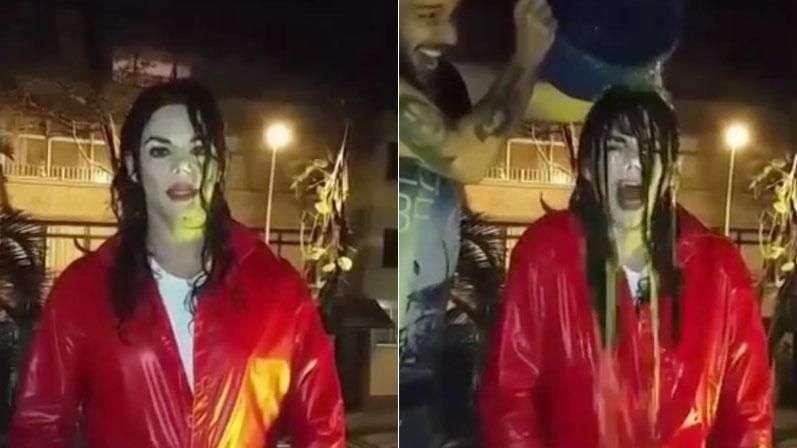 Michael Jackson se suma al reto del 'Ice Bucket Challenge'