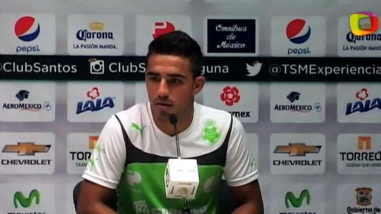 Alonso Escoboza pide en Santos contundencia al ataque ante Toluca