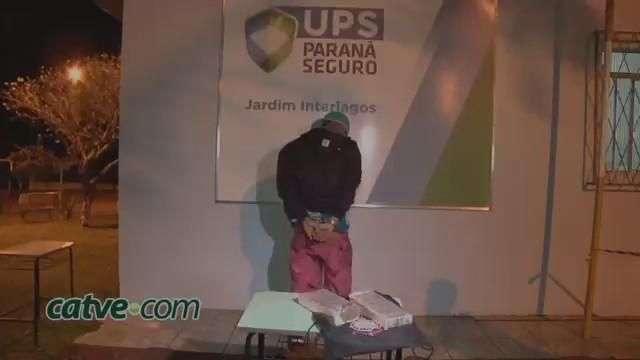 Adolescente é apreendido com dois quilos de maconha no Interlagos