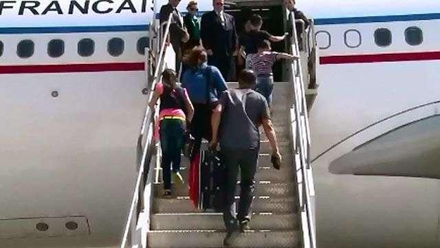 Francia acoge a 40 refugiados cristianos iraquíes