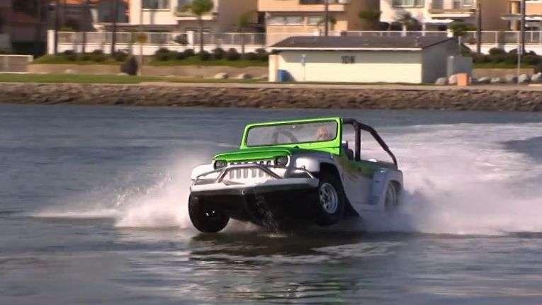 Video: Water Car Panther el anfibio deportivo