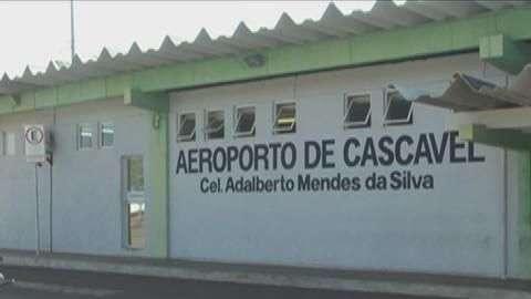 ANAC realiza vistoria no aeroporto de Cascavel