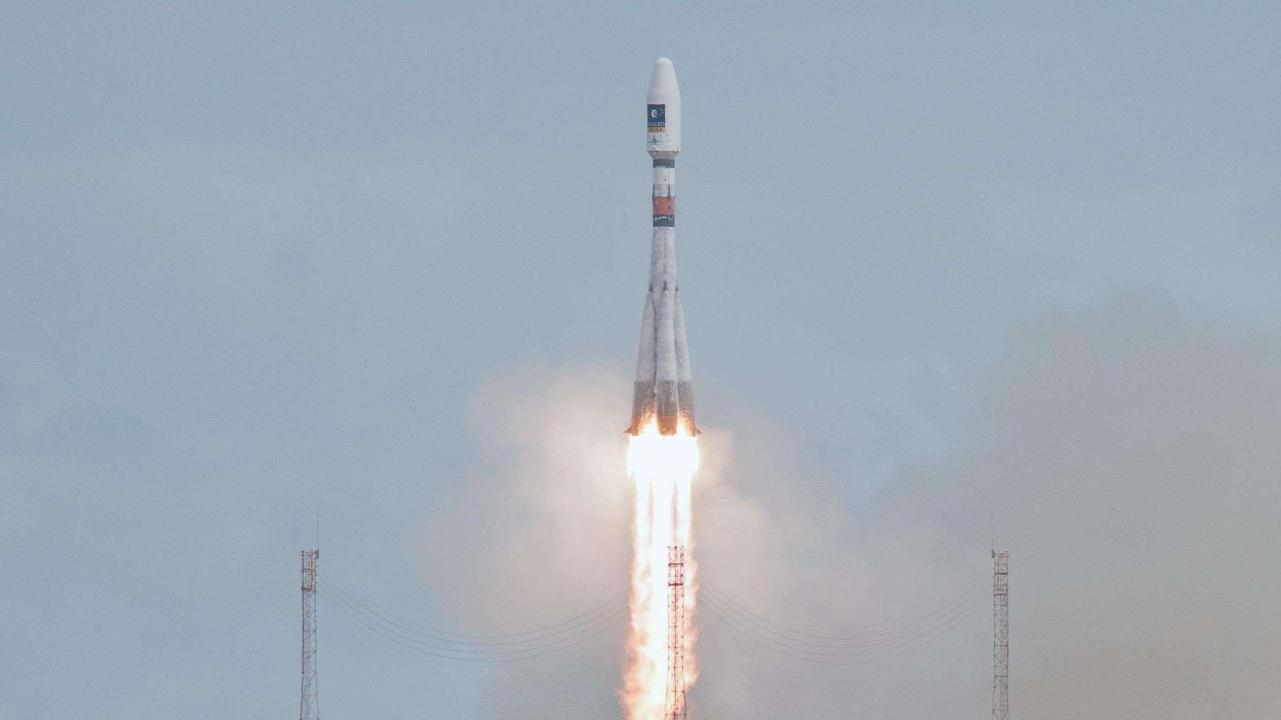 Lanzan al espacio dos satélites del sistema europeo Galileo