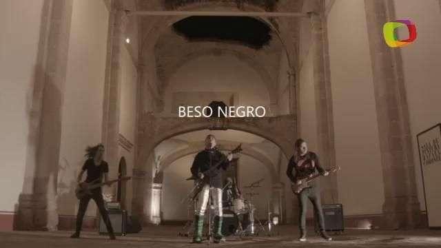 Detrás de cámaras del videoclip 'Beso negro', por  'La Esfinge'