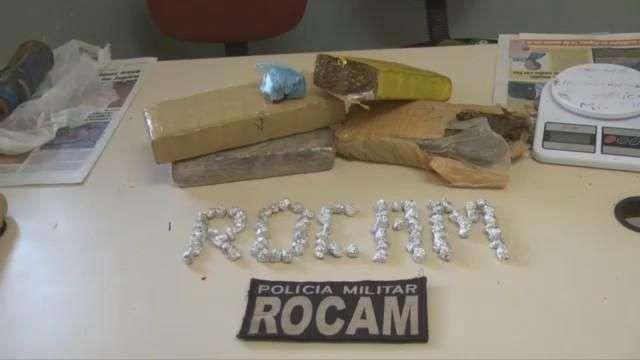 Rocam de Foz do Iguaçu apreende maconha, cocaína e crack