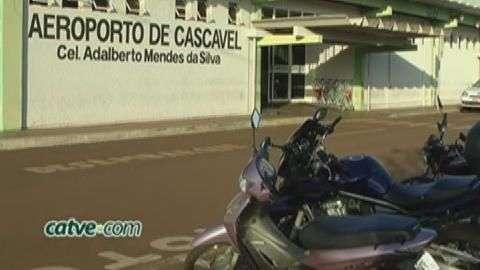 Anac constata irregularidades no aeroporto de Cascavel
