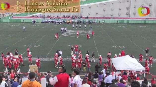 En juego de locura, Linces México vencen a Borregos Santa Fe