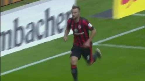 Veja lances de Eintracht Frankfurt 1 x 0 Freiburg pelo Alemão