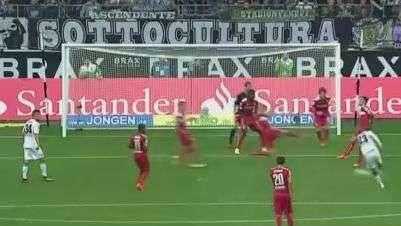 Veja gols de Borussia M'gladbach 1 x 1 Stuttgart pelo Alemão
