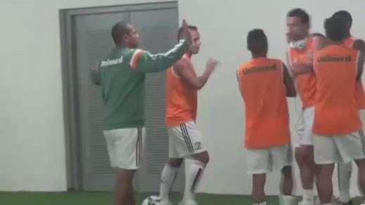 Veja os bastidores da vitória do Fluminense sobre o Sport