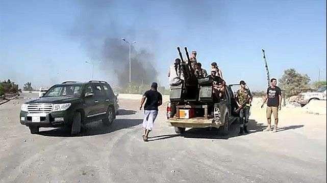 Escalada violenta de conflicto libio