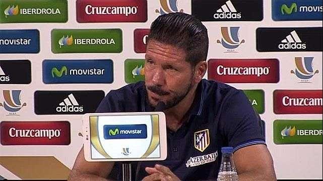 Simeone, suspendido por ocho partidos