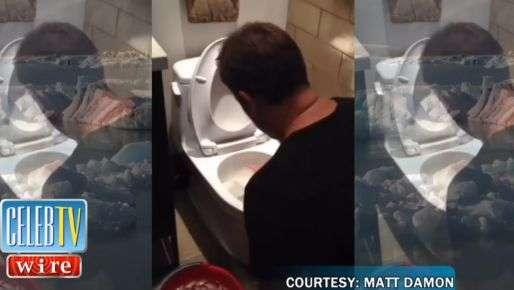 Matt Damon usa agua del inodoro para su Ice Bucket Challenge