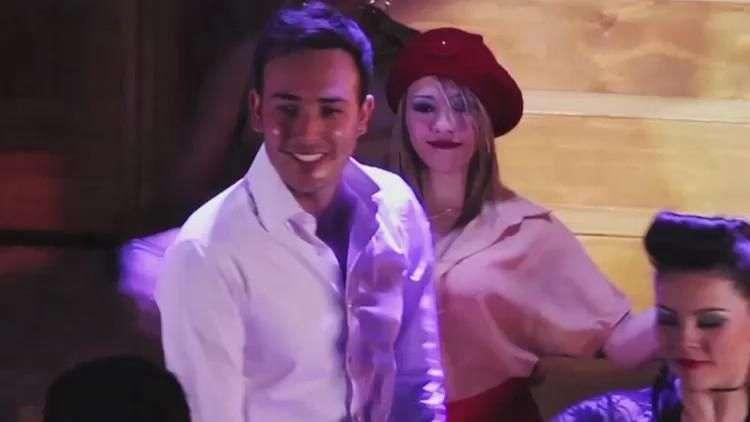 ¿Cómo baila Sebastián Martínez?