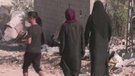 Palestinos voltam para casa depois de cessar-fogo
